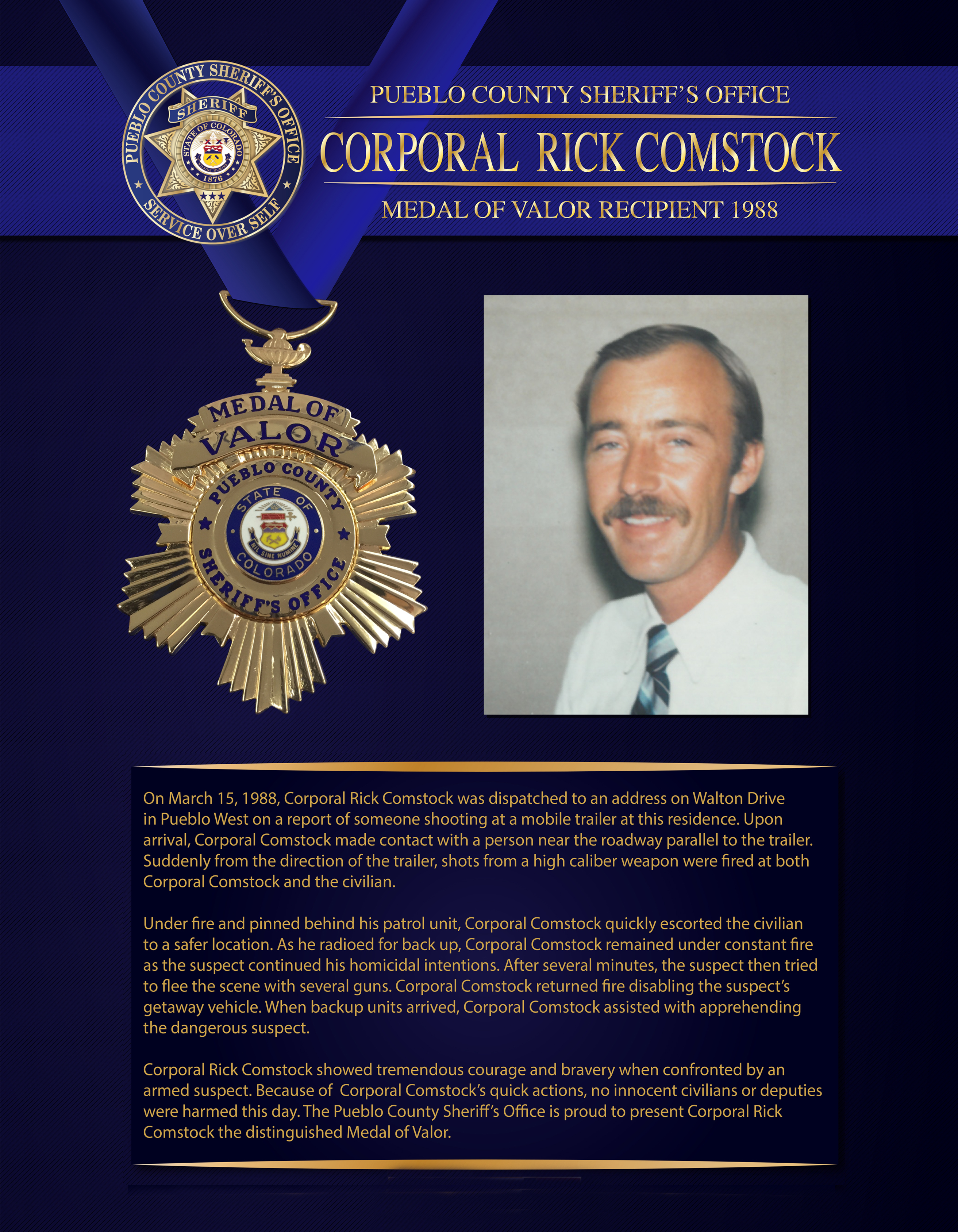 Comstock Medal of Valor